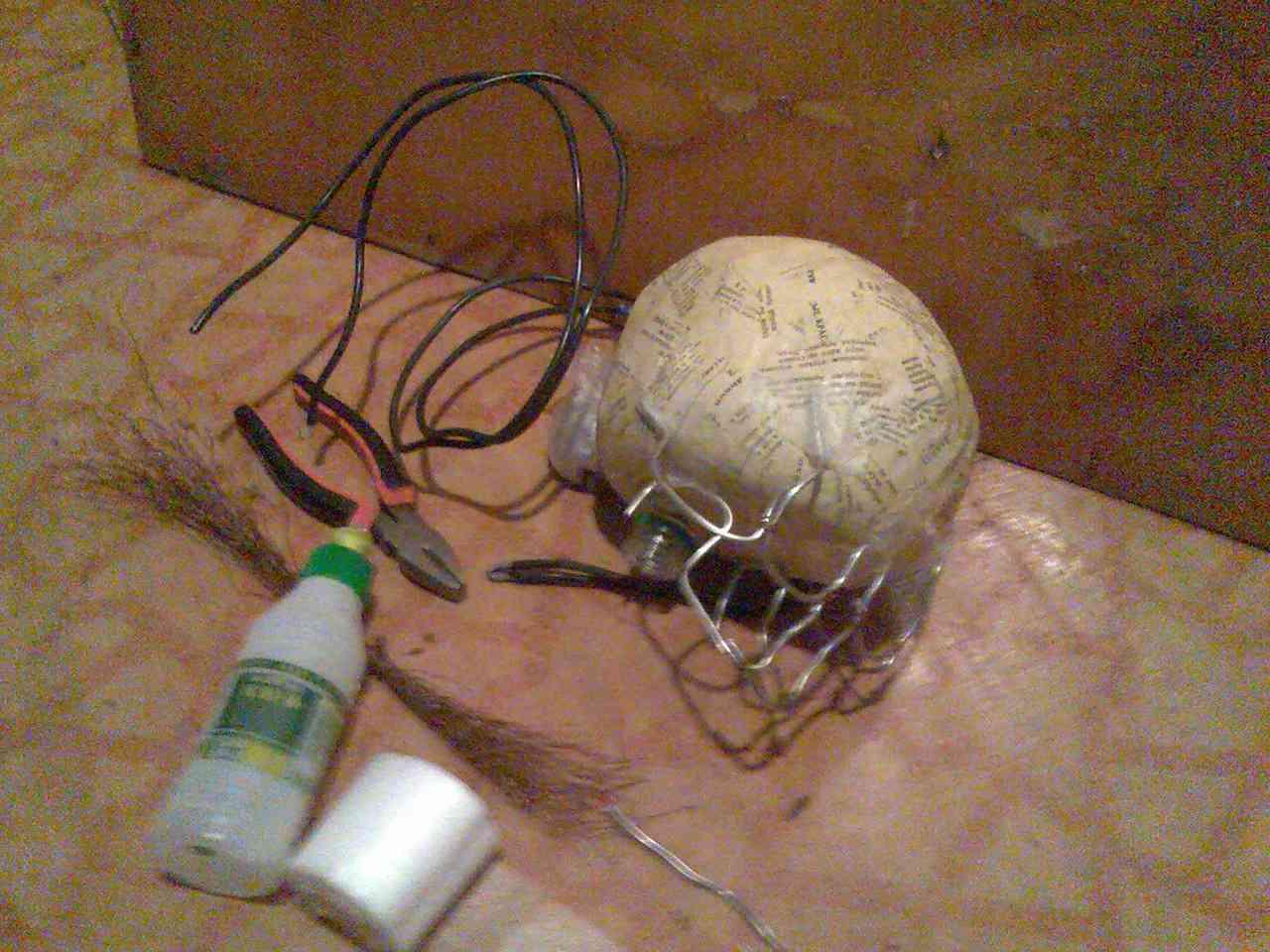 Как вырезать череп своими руками